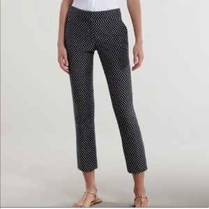 Tory Burch Pants - Tory Burch polka dot cropped pants